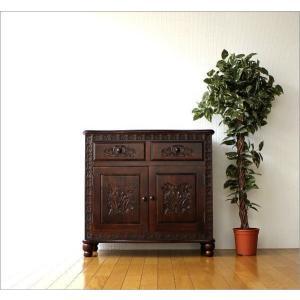 アンティーク 家具 キャビネット サイドボード リビングボード 収納棚 完成品 アンティークなキャビネット|gigiliving|02