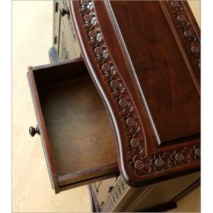 アンティーク 家具 キャビネット サイドボード リビングボード 収納棚 完成品 アンティークなキャビネット|gigiliving|04