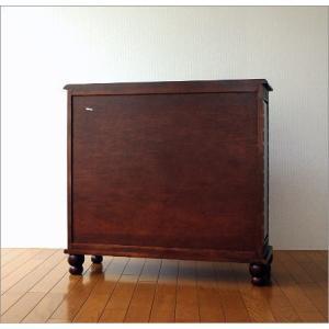 アンティーク 家具 キャビネット サイドボード リビングボード 収納棚 完成品 アンティークなキャビネット|gigiliving|06