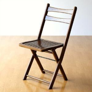 折りたたみ椅子 木製 無垢 オークフォールディングチェアー|gigiliving