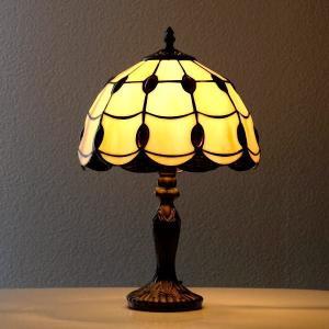 ステンドグラス ランプ 照明 ランプスタンド テーブルランプ アンティーク 大正ロマン おしゃれ ベッドサイドランプ ステンドグラステーブルランプ C|gigiliving