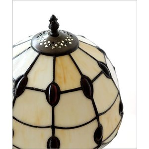 ステンドグラス ランプ 照明 ランプスタンド テーブルランプ アンティーク 大正ロマン おしゃれ ベッドサイドランプ ステンドグラステーブルランプ C|gigiliving|05