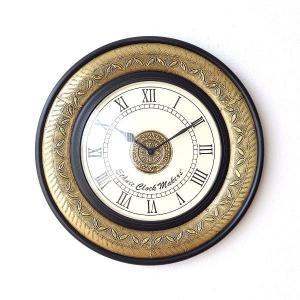 壁掛け時計 掛け時計 掛時計 壁掛時計 おしゃれ アンティーク レトロ クラシック ヨーロピアン エキゾチック 北欧 カフェ ウォールクロック ブラスリーフ|gigiliving