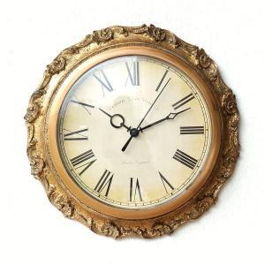 壁掛け時計 掛け時計 アンティーク おしゃれ ウォールクロック レトロ クラシックな掛け時計B|gigiliving