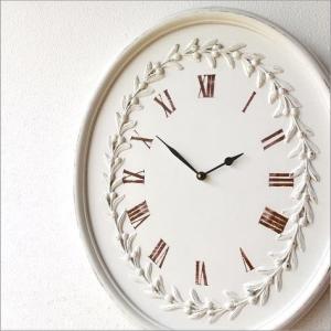壁掛け時計 掛け時計 壁掛時計 掛時計 おしゃれ 白 木製 アンティーク レトロ シンプル ウォールクロック ウッディーな掛け時計 ロマンス