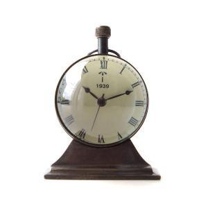 置き時計 置時計 おしゃれ アナログ アンティーク クラシック レトロ 真鍮のテーブルクロック G|gigiliving