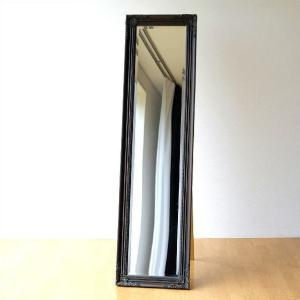 スタンドミラー アンティーク 全身 鏡 姿見 エレガント ヨーロピアン おしゃれ アンティークなスタンドミラーBR|gigiliving