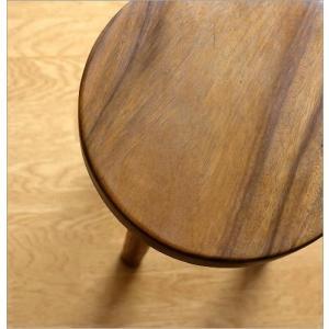 スツール 木製 丸椅子 いす アジアン ウッドスツール サークル|gigiliving|05