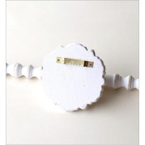 ウォールハンガー アクセサリーハンガー 壁掛け 収納 ウォールバー おしゃれ かわいい 白 ロココ調 レトロ アンティーク アクセサリーウォールハンガー|gigiliving|04