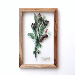 アートフレーム ナチュラル おしゃれ アートパネル モダン インテリア 壁飾り 植物 グリーン ガラス 木製 ウォールデコ フラワープリントのガラスフレームA|gigiliving