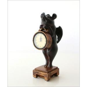 置き時計 置時計 おしゃれ かわいい アンティーク アナログ レトロ インテリア雑貨 豚 ぶた雑貨 置物 オブジェ プレゼント 天使のブタさんクロック|gigiliving|06