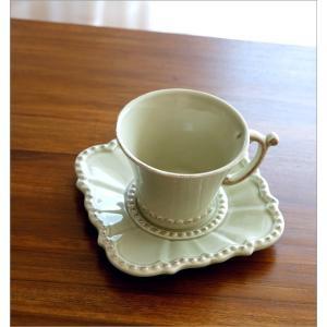 カップ&ソーサー おしゃれ 陶器 コーヒーカップ お皿 プレート セット 洋食器 ティーカップ バーレスクC&S OL|gigiliving|02