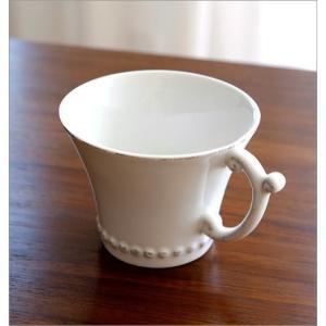カップ&ソーサー おしゃれ 陶器 コーヒーカップ お皿 プレート セット 洋食器 ティーカップ バーレスクC&S WH|gigiliving|03