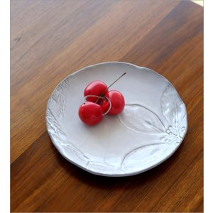 お皿 プレート 陶器 おしゃれ かわいい 可愛い シンプル 洋食器 ハーバリウムプレート フラワー gigiliving 02
