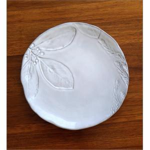 お皿 プレート 陶器 おしゃれ かわいい 可愛い シンプル 洋食器 ハーバリウムプレート フラワー gigiliving 03