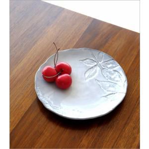 お皿 プレート 陶器 おしゃれ かわいい 可愛い シンプル 洋食器 ハーバリウムプレート リーフ|gigiliving|02
