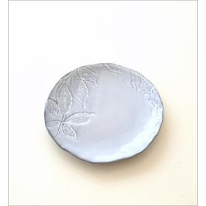 お皿 プレート 陶器 おしゃれ かわいい 可愛い シンプル 洋食器 ハーバリウムプレート リーフ|gigiliving|05