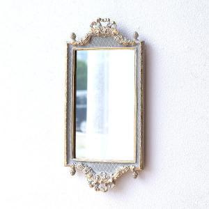 鏡 壁掛けミラー ホワイト 白 おしゃれ ウォールミラー アンティーク ヨーロピアン クラシック エレガント ベルサイユ壁掛ホワイトミラー|gigiliving