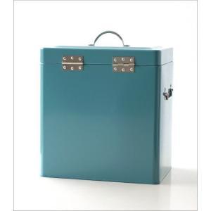 小物入れ ふた付き ボックス おしゃれ スチール缶 深い 整理収納 小物収納 お片付け ツールボックス 工具入れ 道具箱 スチールロングボックス2カラー|gigiliving|05