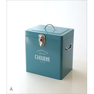 小物入れ ふた付き ボックス おしゃれ スチール缶 深い 整理収納 小物収納 お片付け ツールボックス 工具入れ 道具箱 スチールロングボックス2カラー|gigiliving|08