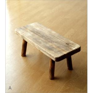 花台 フラワースタンド 木製 おしゃれ ナチュラル 天然木 桐 花置き テーブル ベンチ デザイン 観葉植物 鉢スタンド 鉢置き台 ウッドスクエアスタンドL 2カラー|gigiliving|07