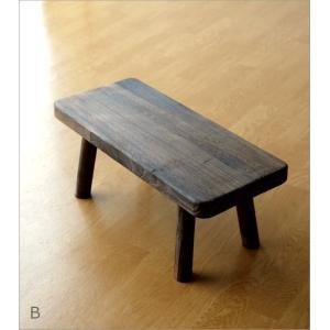 花台 フラワースタンド 木製 おしゃれ ナチュラル 天然木 桐 花置き テーブル ベンチ デザイン 観葉植物 鉢スタンド 鉢置き台 ウッドスクエアスタンドL 2カラー|gigiliving|08