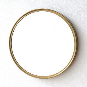 鏡 壁掛けミラー おしゃれ ウォールミラー シンプル ヴィンテージ風 アンティーク スタイリッシュ 丸い 丸型 円形 サークル レトロなアイアンラウンドミラー|gigiliving