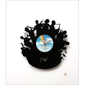 壁掛け時計 掛け時計 掛時計 壁掛時計 おしゃれ かっこいい ユニーク ウォールクロック アメリカン レコード盤の掛け時計 3タイプ|gigiliving|05