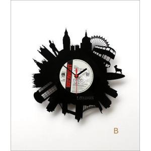 壁掛け時計 掛け時計 掛時計 壁掛時計 おしゃれ かっこいい ユニーク ウォールクロック アメリカン レコード盤の掛け時計 3タイプ|gigiliving|06