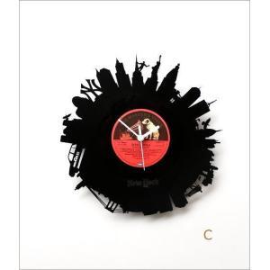 壁掛け時計 掛け時計 掛時計 壁掛時計 おしゃれ かっこいい ユニーク ウォールクロック アメリカン レコード盤の掛け時計 3タイプ|gigiliving|07