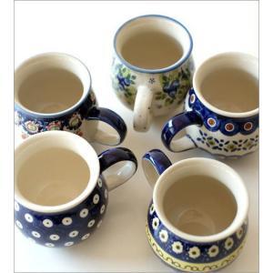 ポーランド食器 マグカップ おしゃれ ポーランド陶器のマグB 5タイプ|gigiliving|03