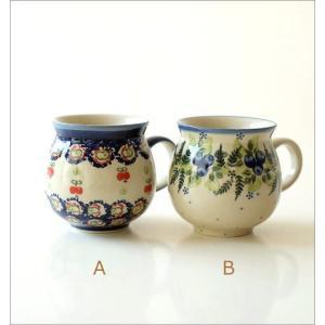 ポーランド食器 マグカップ おしゃれ ポーランド陶器のマグB 5タイプ|gigiliving|04