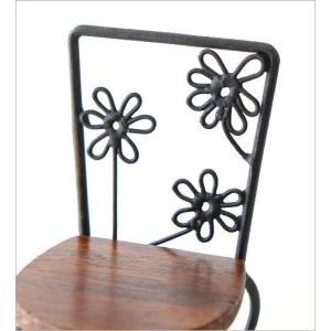 置物 オブジェ 小さな椅子 木製 アイアンミニチェアー B|gigiliving|04