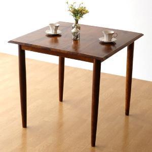ダイニングテーブル 無垢 80×80cm 正方形 シーシャムウッド 天然木 ナチュラル シンプル コンパクト コーヒーテーブル シーシャムスクエアダイニングテーブル|gigiliving