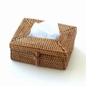 ポケットティッシュケース アタ バリ アジアン おしゃれ シンプル かわいい 卓上 洗面所 ポケットティッシュ 箱 ケース ボックス アタ ミニティッシュBOX|gigiliving
