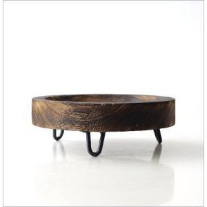 トレー 小物入れ 皿 プレート 木製 天然木 丸 卓上トレイ アクセサリートレイ 収納 花台 ラウンドウッドトレーL|gigiliving|03
