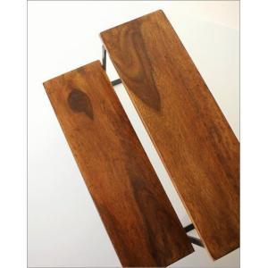 棚 シェルフ 飾り棚 飾棚 スパイスラック 木製 2段ディスプレイラック|gigiliving|03