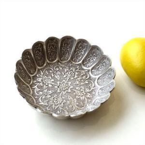 プレート トレー トレイ 真鍮 小物 皿 金属製 シルバー レトロ おしゃれ アンティーク アクセサ...