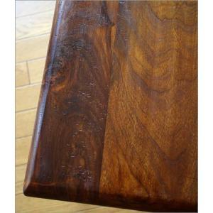 サイドテーブル 木製 おしゃれ ベッドサイドテーブル ソファサイドテーブル 花台 シンプル ナチュラル アジアン アイアンとシーシャムのネストテーブル M gigiliving 03