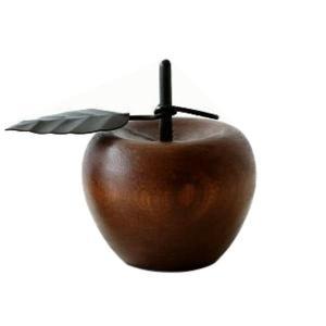 洋ナシ リンゴ 木製 置物 オブジェ インテリア 洋なし りんご デザイン 置き物 木 マンゴーウッドのオブジェ 2タイプ|gigiliving|06