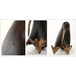 置物 木製 インテリアオブジェ アジアン雑貨 キウイ木彫り 大|gigiliving|05