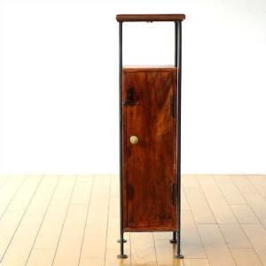 キャビネット スリム サイドテーブル 木製 すきま収納 幅20cm 収納ボックス 無垢 隙間ラック 隙間収納 省スペース シーシャムスリムウッドキャビネット|gigiliving
