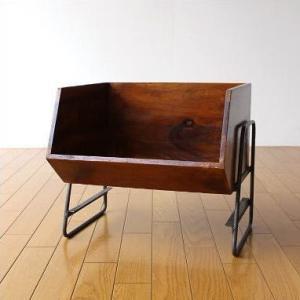 収納ボックス BOX スタッキング 収納ラック 木製 ストッカー シーシャムボックススタンド|gigiliving