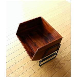 収納ボックス BOX スタッキング 収納ラック 木製 ストッカー シーシャムボックススタンド|gigiliving|02