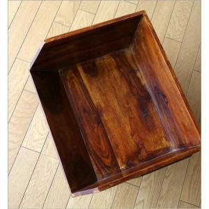 収納ボックス BOX スタッキング 収納ラック 木製 ストッカー シーシャムボックススタンド|gigiliving|05