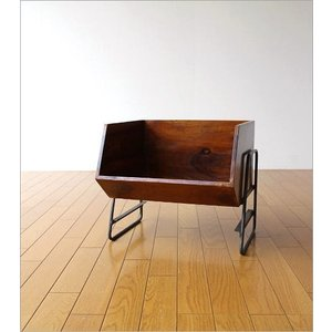 収納ボックス BOX スタッキング 収納ラック 木製 ストッカー シーシャムボックススタンド|gigiliving|06