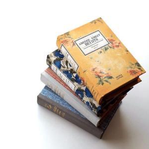 本型小物入れ ブック型収納ボックス 宝箱 洋書 シークレットボックス アンティーク調 レトロ アンティーク風 雑貨 レトロブックボックス リーブル4タイプ|gigiliving