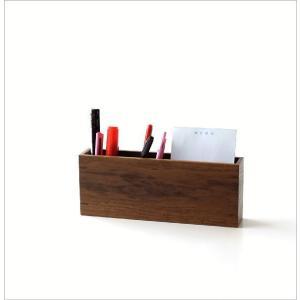 ペン立て ペンスタンド おしゃれ 木製 ペンたて カトラリースタンド ウォールナット kidate ペン立て|gigiliving|05