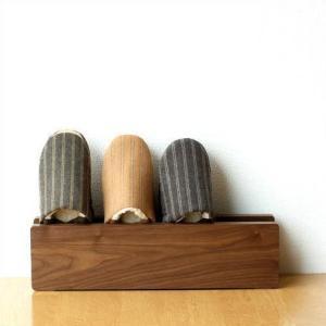 スリッパラック 木製 おしゃれ スリム 壁掛け スリッパ立て ウッドスリッパラック|gigiliving