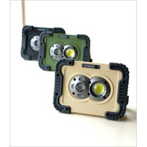 LEDライト ワークライト 電池式 屋外 屋内 磁石 マグネット 壁掛け スタンド 手持ち 防水 防塵 耐衝撃 軽量 防災 小型 ポータブルLEDワークライト3カラー|gigiliving|02